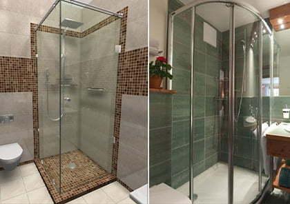 Монтаж і підключення душових кабін