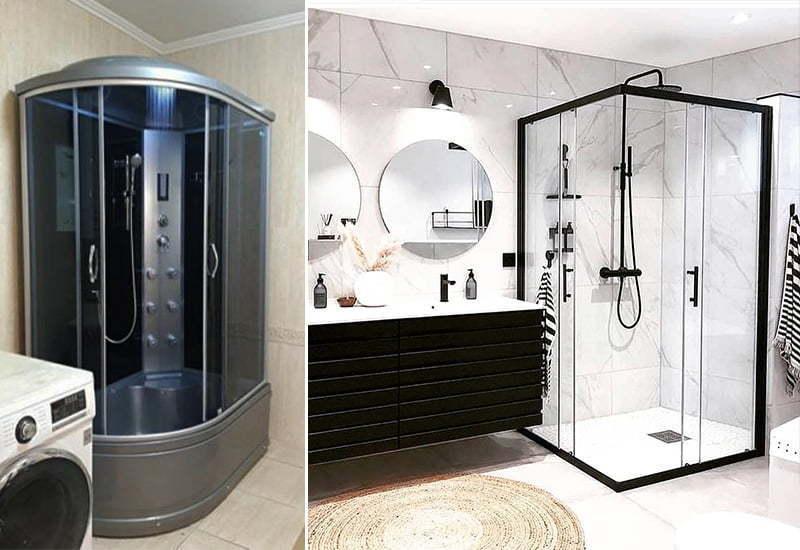 Збірка, встановлення та підключення душових кабін в Києві